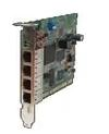 Ethernet Modules UPCI bus 4x 10/100TX (RJ-45) Ethernet Switch Card