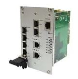 Ethernet Modules Rugged 14x 10/100/1000T RJ45 connectors (backplane type) cPCI switch card with 2-port 2-wire solution