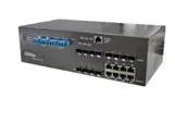Ethernet Modules Rugged 8x 10/100/1000TX (RJ-45) + 12x 100/1000 SFP slots with Single mode bypass