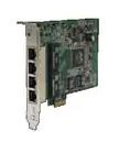 Ethernet Modules UPCIe bus 4x 10/100/1000TX (RJ-45) Ethernet Switch Card