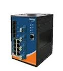 Ethernet Modules Rugged 8x 10/100/1000TX (RJ-45) + 4x 100/1000(SFP) with Fiber bypass Multi Mode LC type