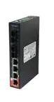 Ethernet Modules Slim Type 4x 10/100TX (RJ-45) PoE+ (30Watts) with 2-port 100FX multimode fiber SC