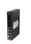 Ethernet Modules Slim Type 4x 10/100TX (RJ-45) PoE+ (30Watts) with 2-port 100FX Single mode fiber SC