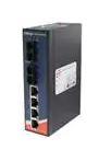 Ethernet Modules 4x 10/100TX (RJ-45) PoE+ (30Watts) with 2-port 100FX Single mode fiber SC