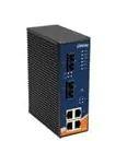 Ethernet Modules Rugged 4x 10/100TX (RJ-45) PoE @25Watts + 2x 100FX (Single Mode / SC)