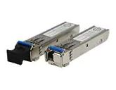 Fiber Optic Transmitters, Receivers, Transceivers 100Mbps SFP optical Transceiver, Multi-mode / 2KM, TX:1310 nm RX:1550nm, 0 70oC