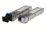 Fiber Optic Transmitters, Receivers, Transceivers 100Mbps SFP optical Transceiver, Multi-mode / 2KM, TX:1550 nm RX:1310nm, -40 85oC