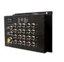 Ethernet Modules EN50155 IP40 16x 10/100/1000TX (PoE) + 4-port 1000 with M12 connector managed switch