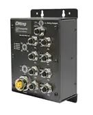 Ethernet Modules EN50155 IP40 8x 10/100TX (M12) PoE @30Watts + 1x 10/100TX (RJ-45) with input range 12-36VDC Ethernet Modules EN50155 IP40 8x 10/100TX (M12) PoE @30Watts + 1x 10/100TX (RJ-45) with input range 12-36VDC